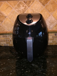 Front View of Air Fryer