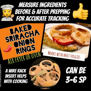 Measure Ingredients before and after prepping for accurate tracking