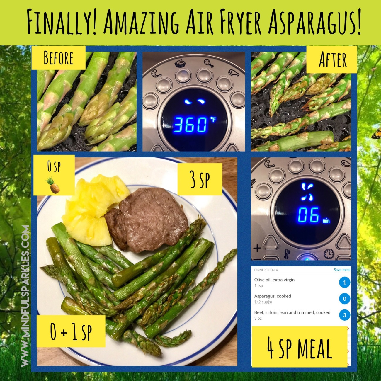 Amazing Air Fryer Asparagus