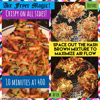 Hash Browns are a great side dish for dinner or breakfast!