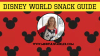 Walt Disney World Visual Snack Guide