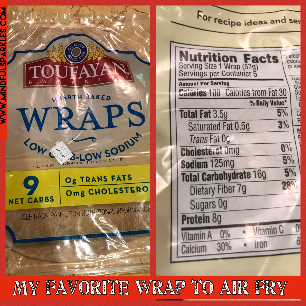 My Preferred Wrap Brand is Toufayan